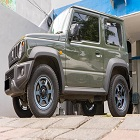 Suzuki All New Jimny with Volk Rays Japan TE37 X UL Matte Blue Gunmetal R16