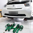Toyota IQ with TEIN Flex Z Coilover